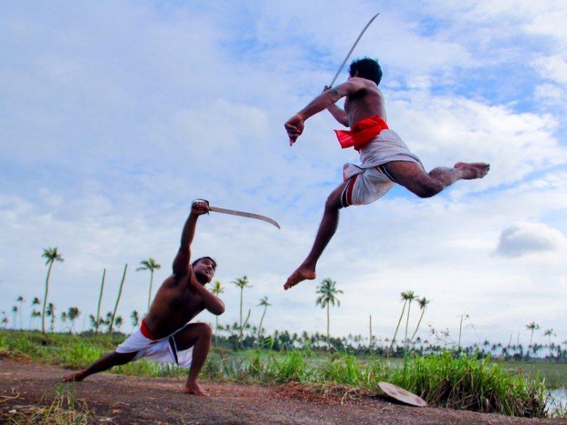 arte marcial Kalaripayattu