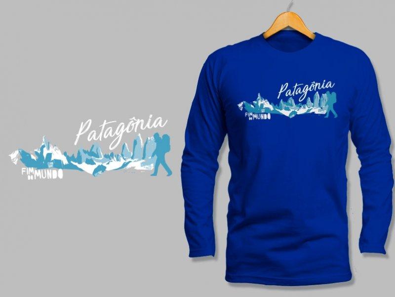 Camiseta Dry Fit Manga Longa Patagônia