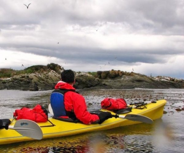 Kayak no Canal de Beagle