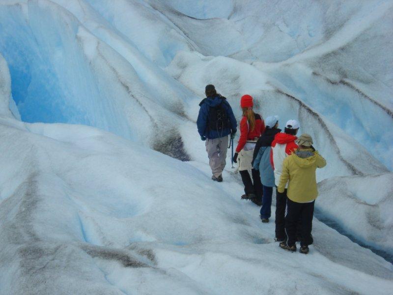 El Calafate - Mini Trekking - Caminhada sobre o Gelo Glaciar Perito Moreno