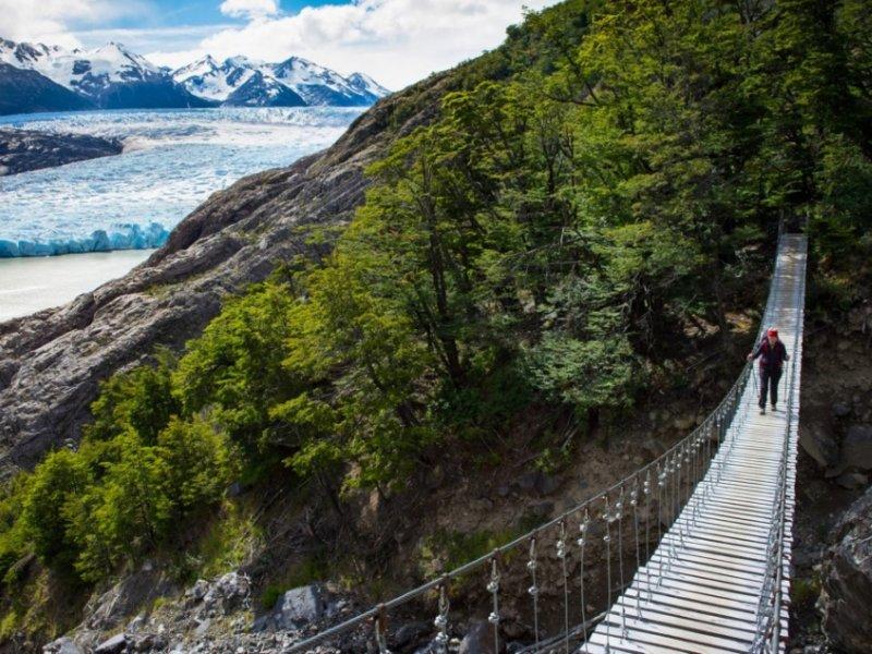 Grande Circuito 360 Graus -  Torres del Paine  - Glaciar Grey