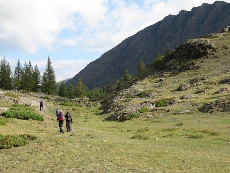 Trekking na Mongólia