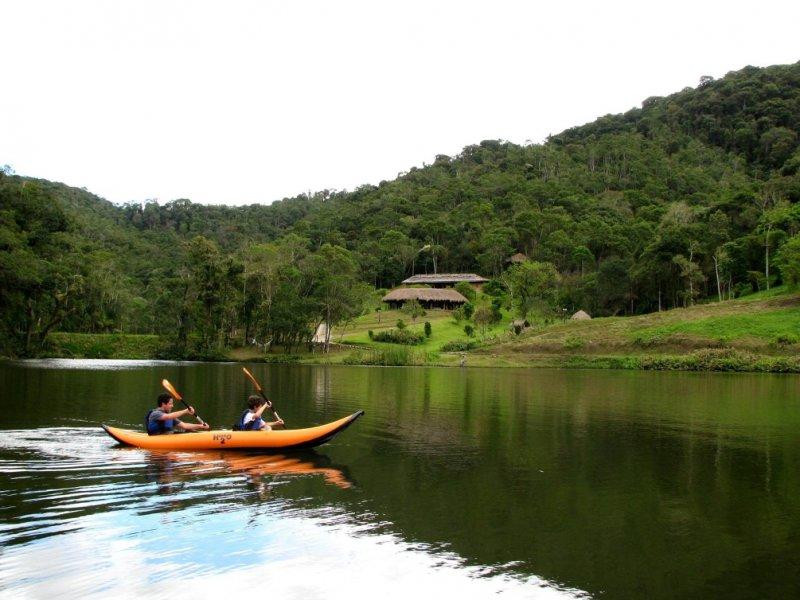 Passeio de Duck - Paraíso EcoLodge - Intervales