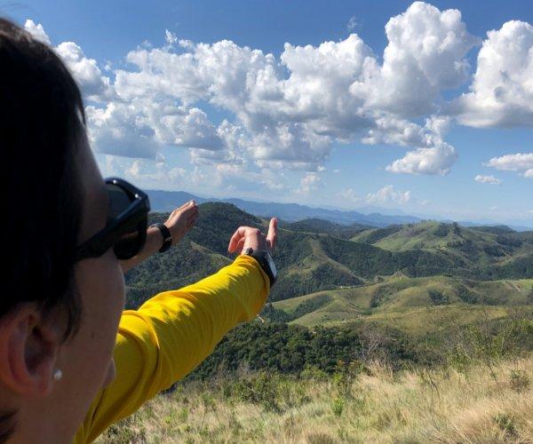 Mirante - Vista da Serra da Mantiqueira