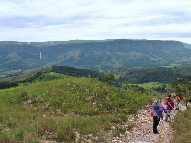 Serra da Canastra - Cachoeira Casca D'Anta - Foto Hilda Pena