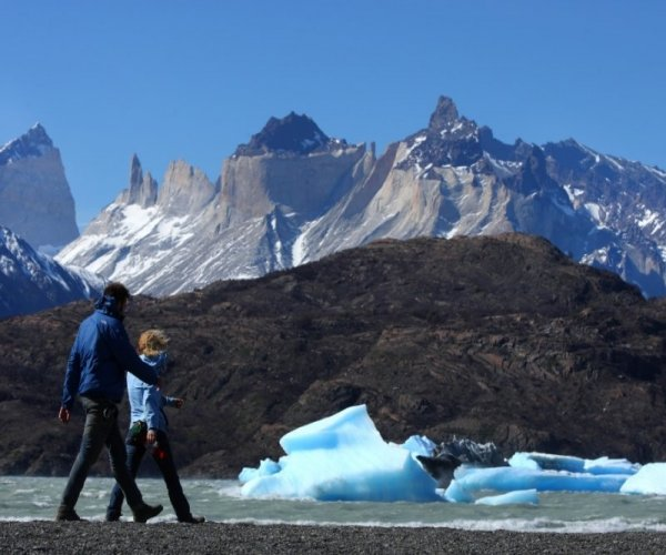 Trekking Praia do Glaciar Grey - Torres del Paine