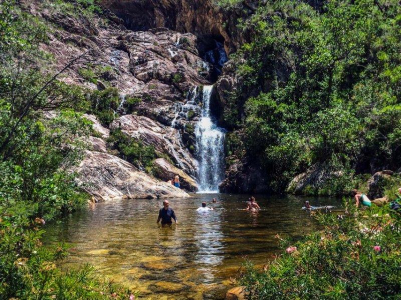 Cachoeira do Gavião e Andorinhas
