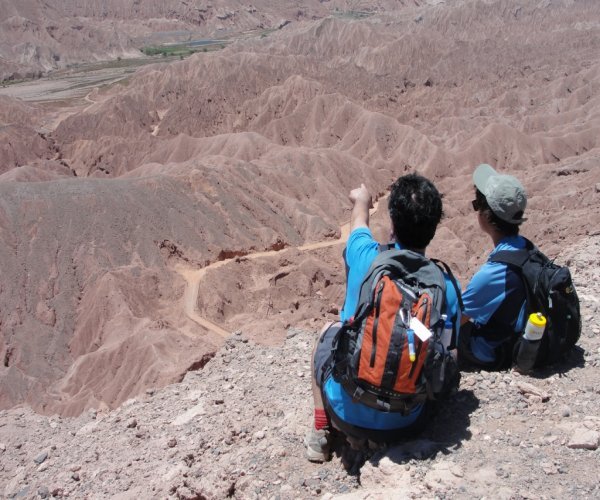 trekking de las alturas