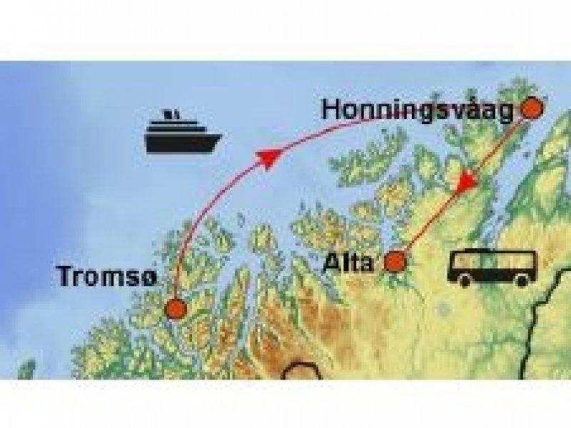 Noruega Inverno - Aurora Boreal / Hotel de Gelo Igloo Sorrisniva