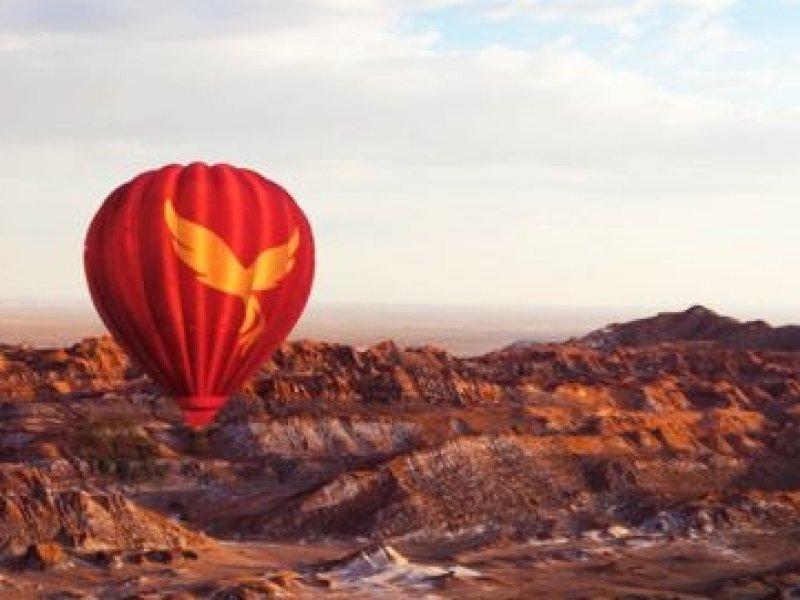Tour Opcional - Nascer do Sol em Balão no Deserto de Atacama