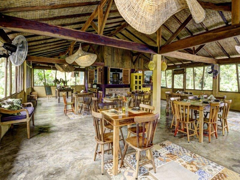 Restaurante - Bananal Ecolodge - Ubatuba