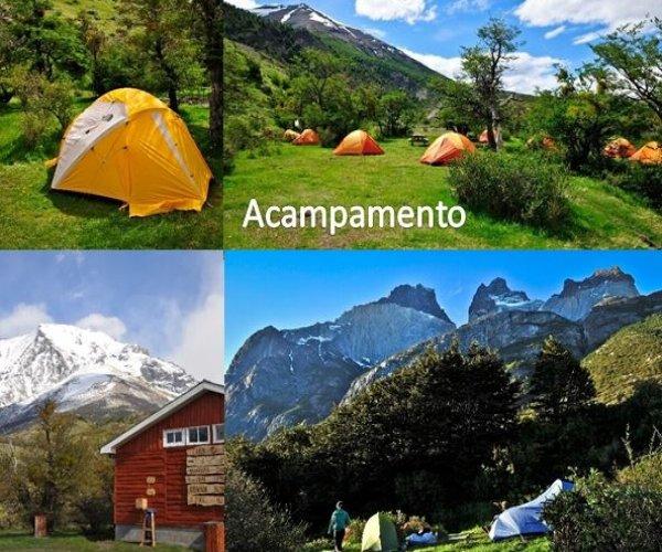 opção acampamento - W Torres del Paine