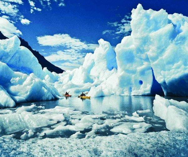 Kayak - Patagonia Camp