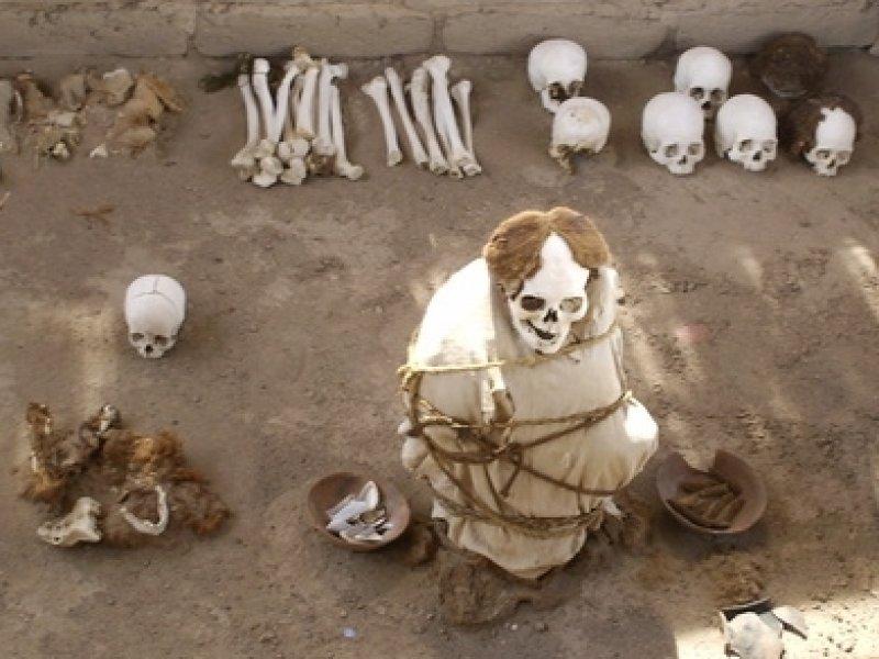 Cemitério Chauchilla - Nazca