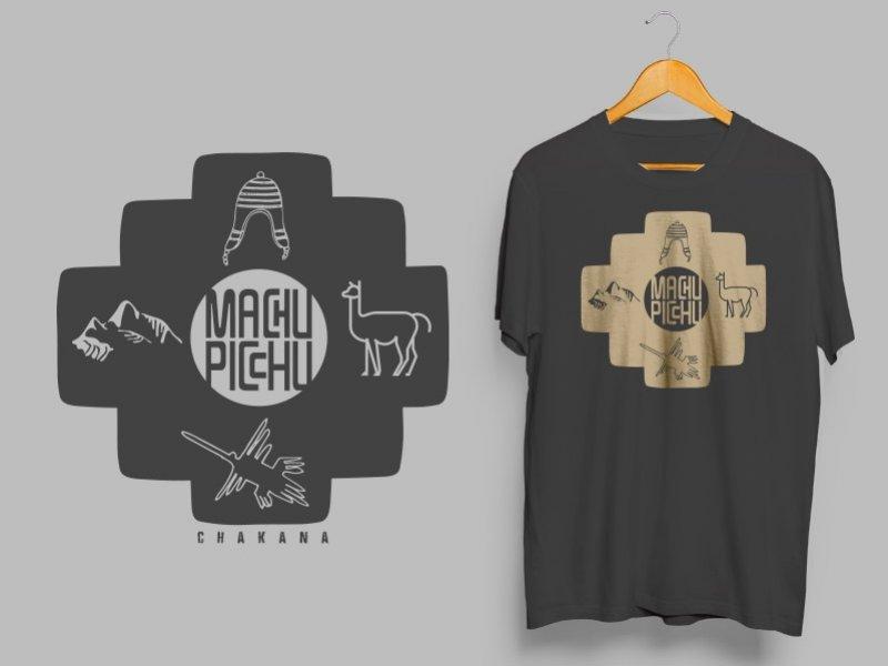 Camiseta Dry Fit Manga Curta Machu Picchu