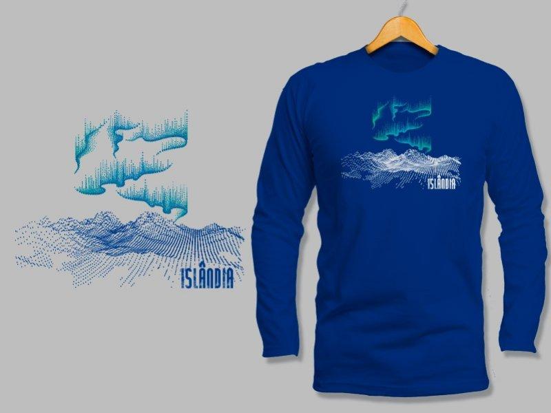 Camiseta Dry Fit Manga Longa Islândia