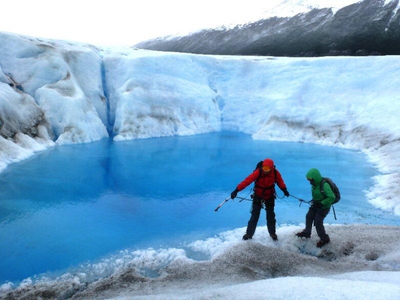 Caminhada sobre Glaciar Grey - Torres del Paine