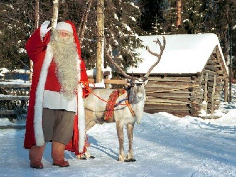 Finlandia - Vila Santa Klaus (Papai Noel)