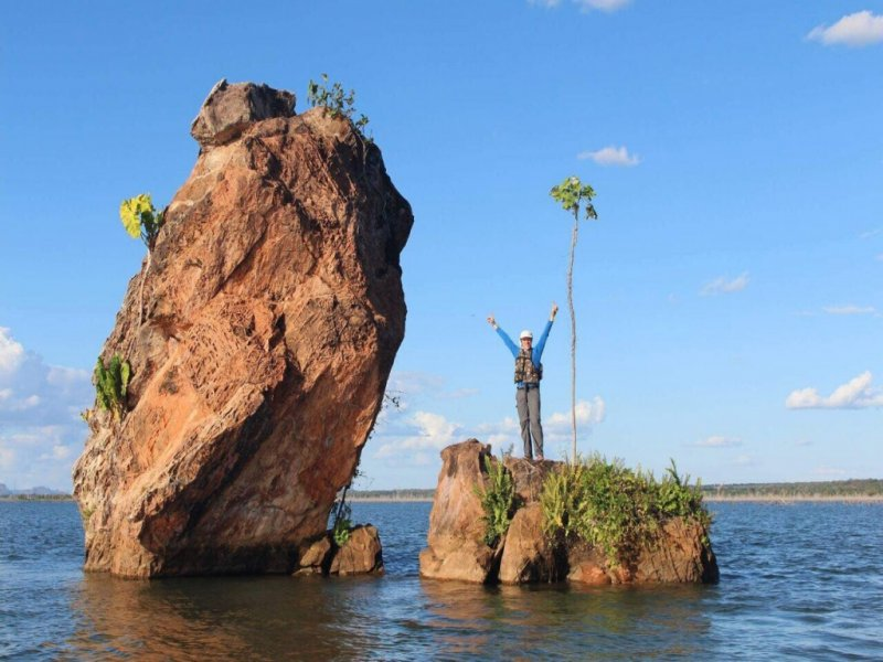 Passeio de Barco no Rio Tocantins