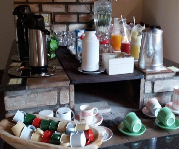 Café da manhã na fazenda