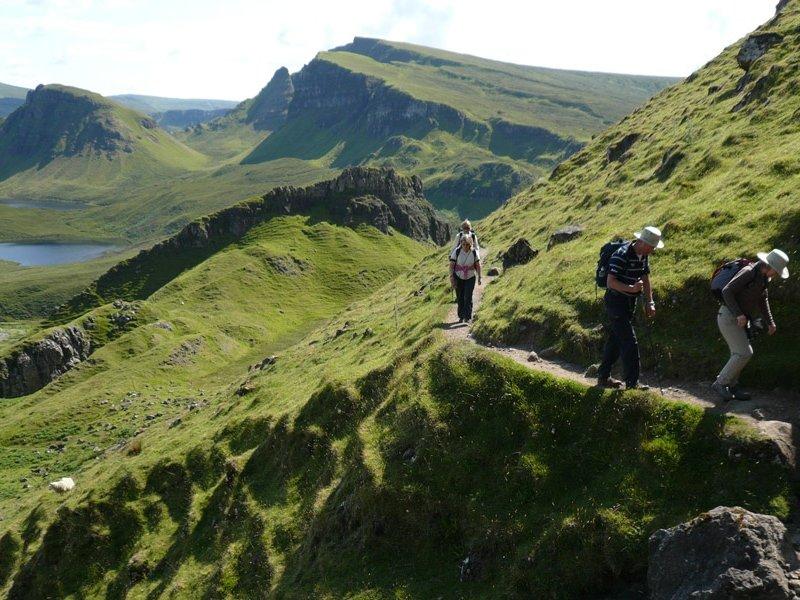 Trekking na Ilha de Skye