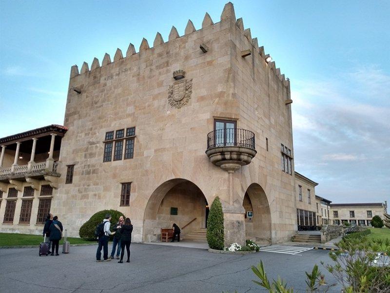 Hotel histórico em Baiona