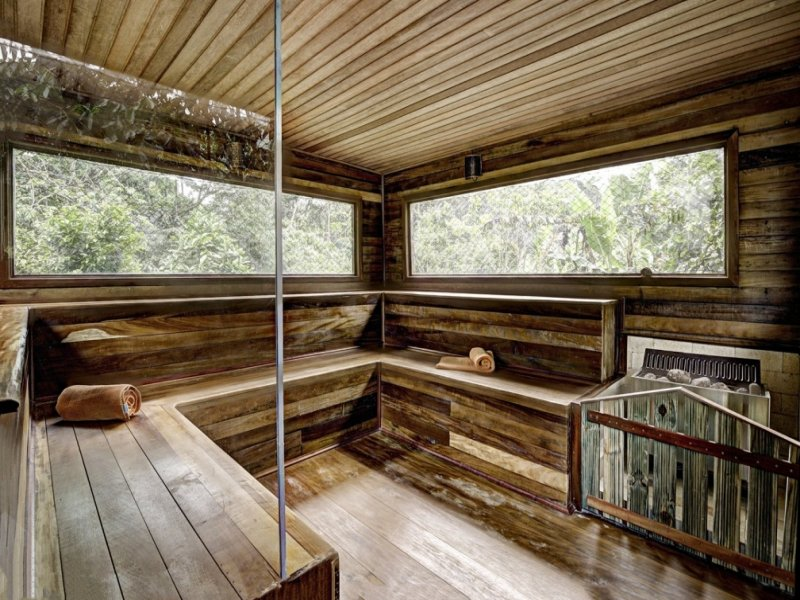 Sauna - Bananal Ecolodge = Ubatuba
