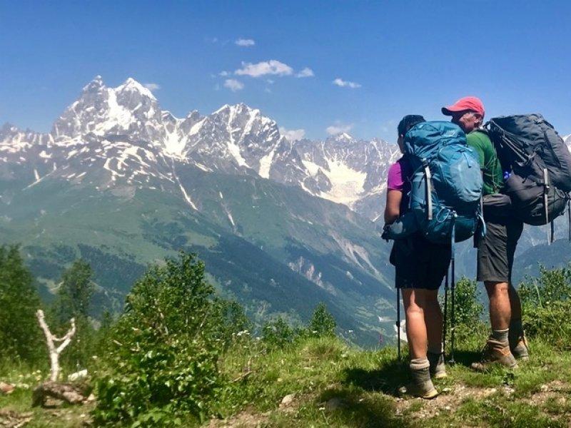 Paisagem Cáucaso - Geórgia
