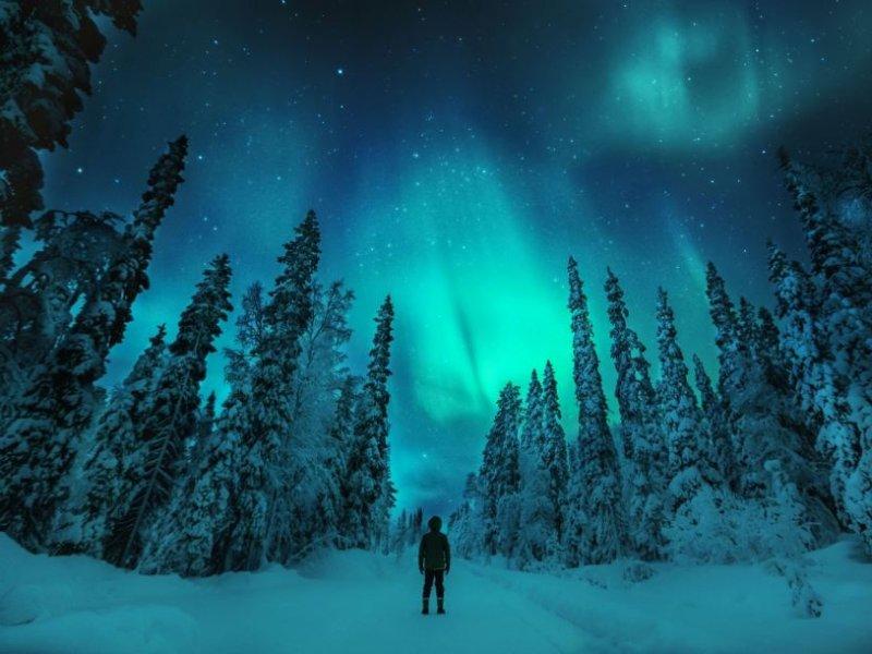 Aurora Boreal - Finlandia - credito: Konta Punkka, visitfinland.com