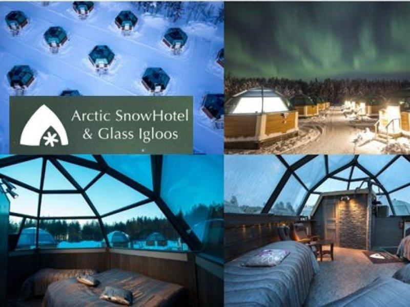 Laponia (Finlandia) - Hotel de Gelo e Iglus de Vidro