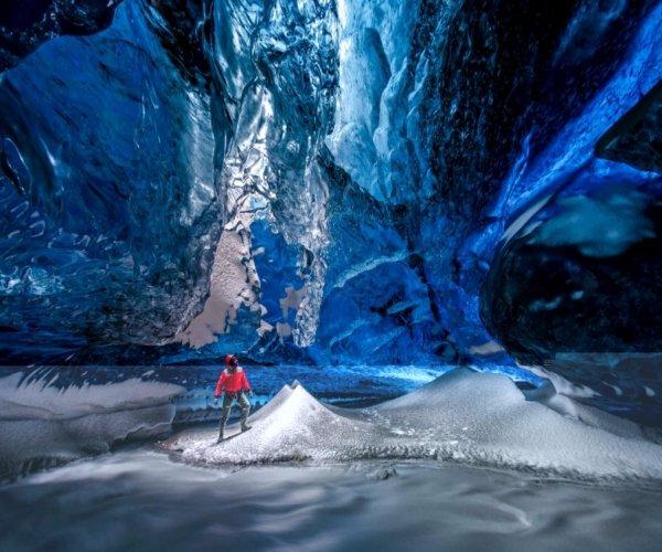 Cavernas de Gelo na Islândia