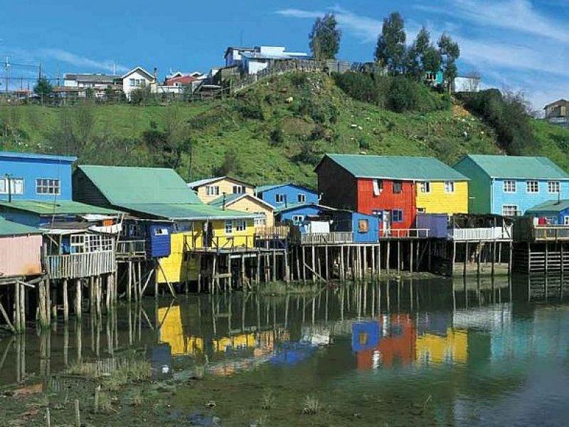 Chiloe - Casas Palafitas - Chile