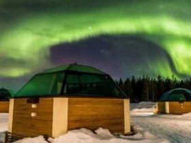 Lapônia Experience (Aurora Boreal, Aventuras na Neve e Igloo de Vidro)