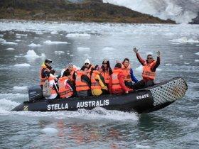 Rota Especial - Cruzeiros Australis - Glaciares del Fin del Mundo