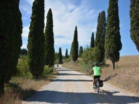 Cicloturismo na Itália - As paisagens da Toscana