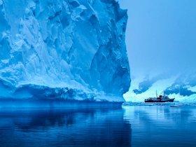 Navegações na Antártica, o continente gelado