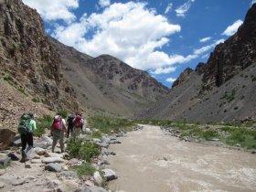 Trekking ao Campo Base do Aconcágua - Plaza Argentina