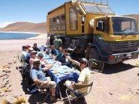Neve e Deserto - Valle Nevado e Deserto de Atacama Experiencia Safari Bus