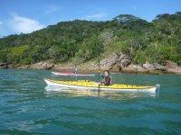 Caiaque Ocêanico em Ubatuba - Praia da Lagoa