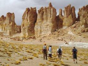 Paisagens do Deserto do Atacama e Santiago