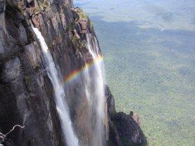 Salto Angel e Lagoa de Canaima
