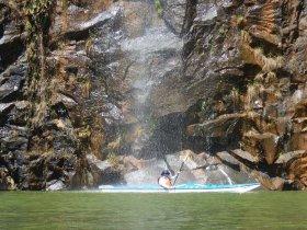 Caiaque Oceânico - Joanópolis - Represa de Jaguari, Cachoeira dos Gordos